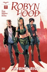 Robyn Hood #20 Goes Out Fighting in Final Issue