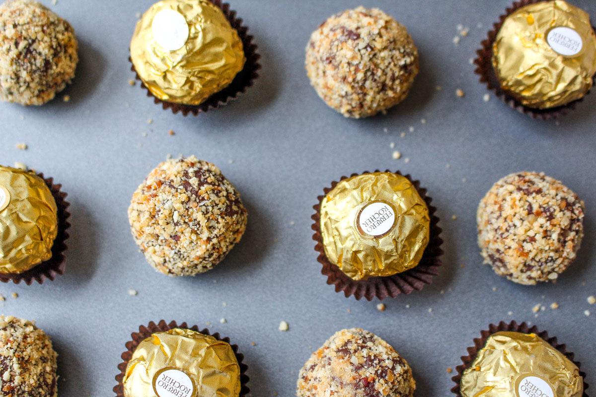 Ferrero Rocher Truffles | What Charlotte Baked