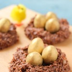 Chocolate & Peanut Butter Easter Nests