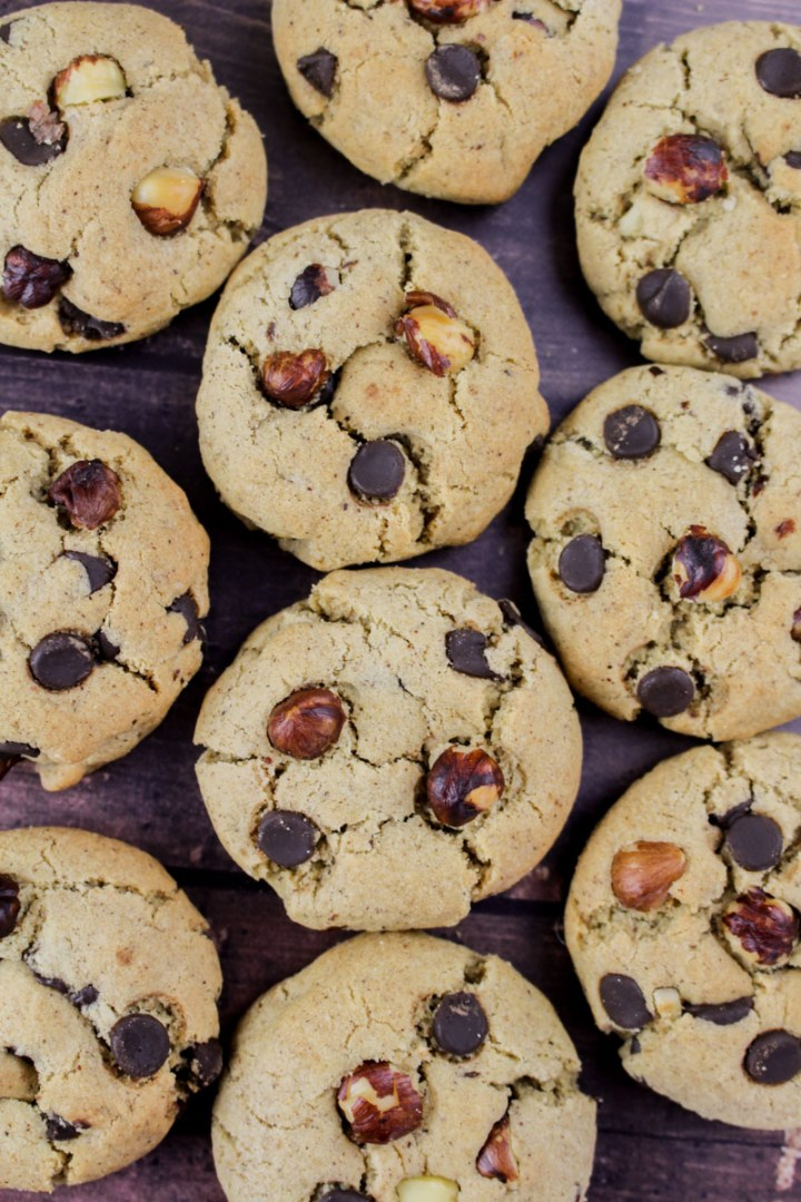 Hazelnut Chocolate Cookies   What Charlotte Baked