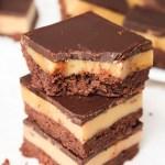 Double Chocolate Millionaire's Shortbread