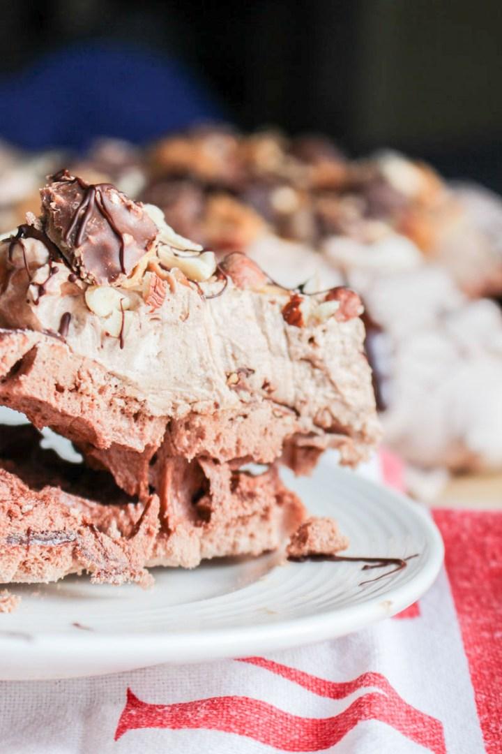Ferrero Rocher Pavlova | What Charlotte Baked