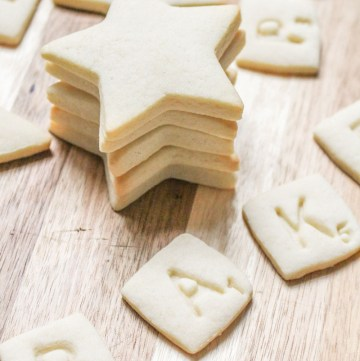Vanilla Sugar Cookies | What Charlotte Baked
