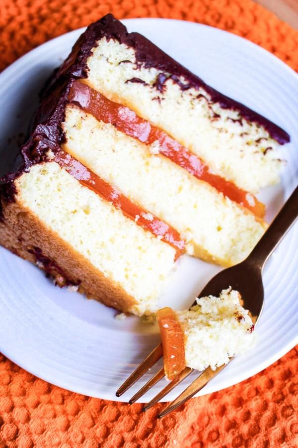 Jaffa Cake Layer Cake recipe | What Charlotte Baked
