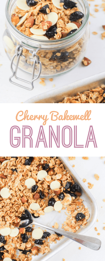 Cherry Bakewell Granola   What Charlotte Baked