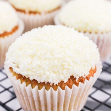 Coconut Lime Cupcakes | What Charlotte Baked