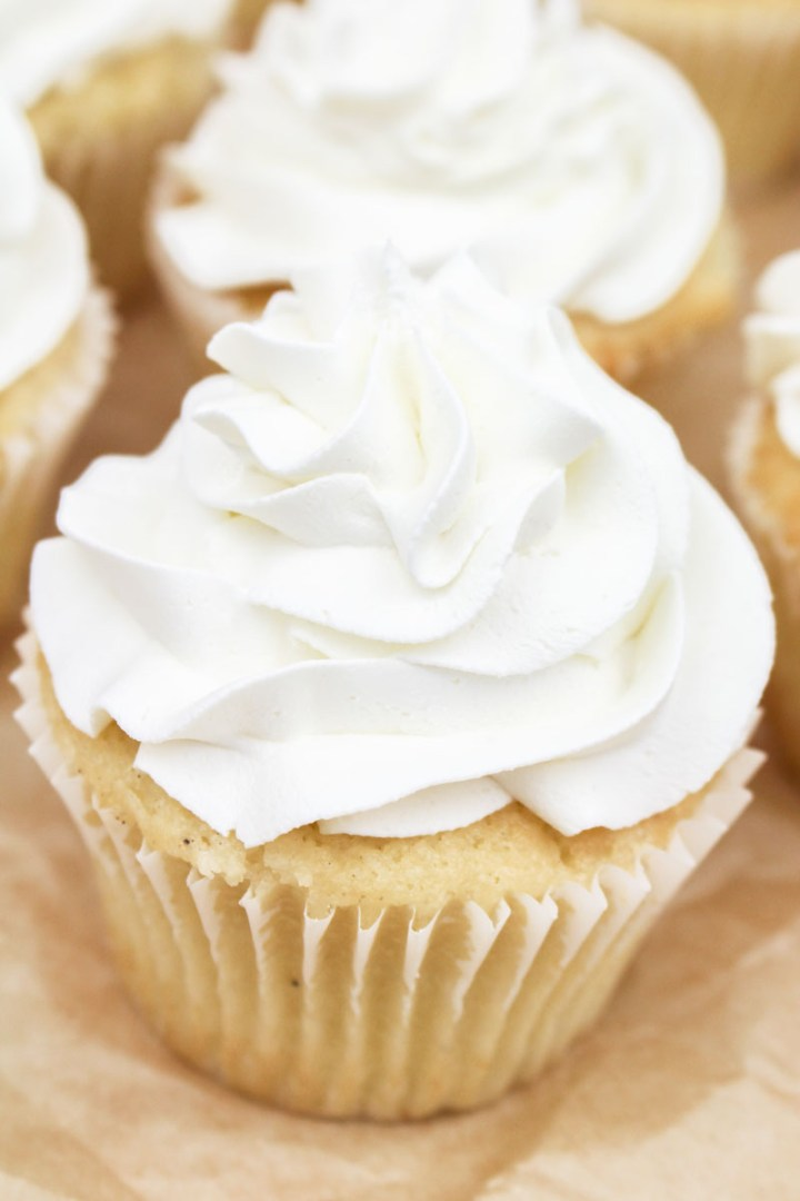 White Vanilla Buttercream | What Charlotte Baked