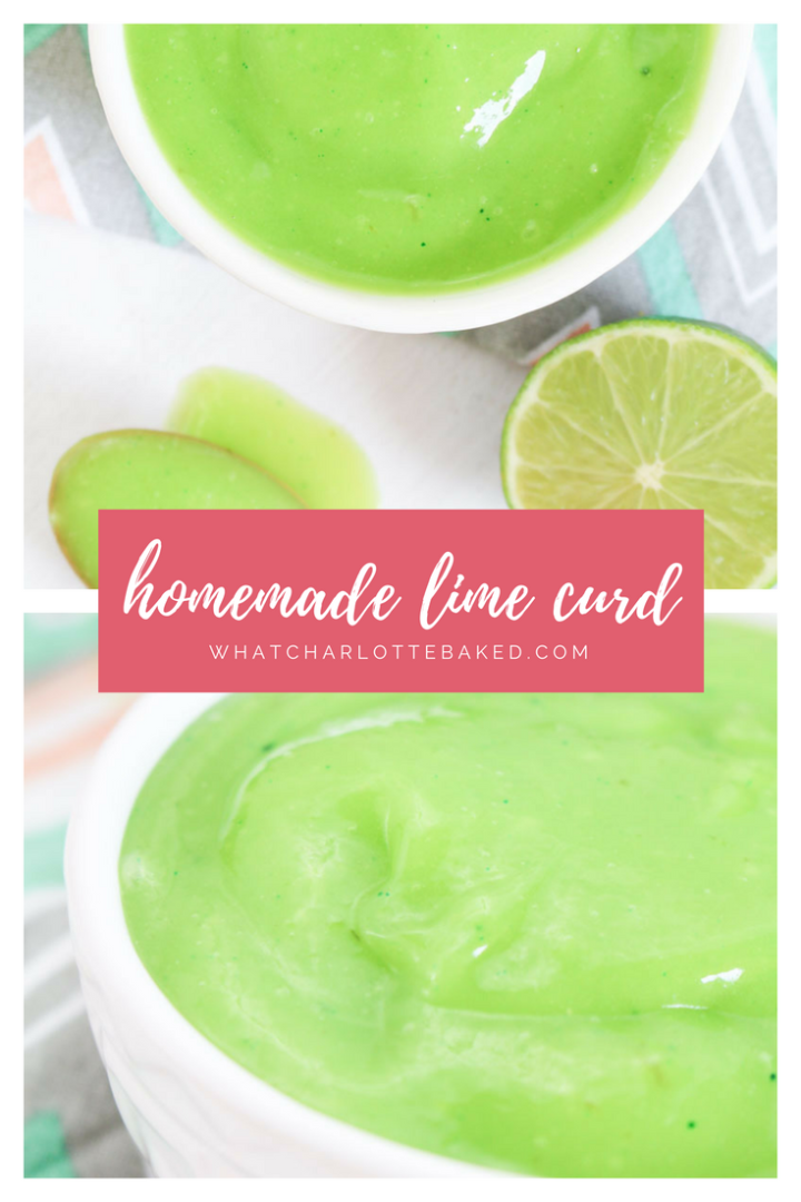 Homemade Lime Curd | What Charlotte Baked