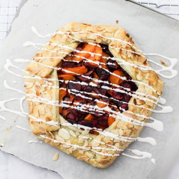 Cherry Apricot Galette recipe   What Charlotte Baked