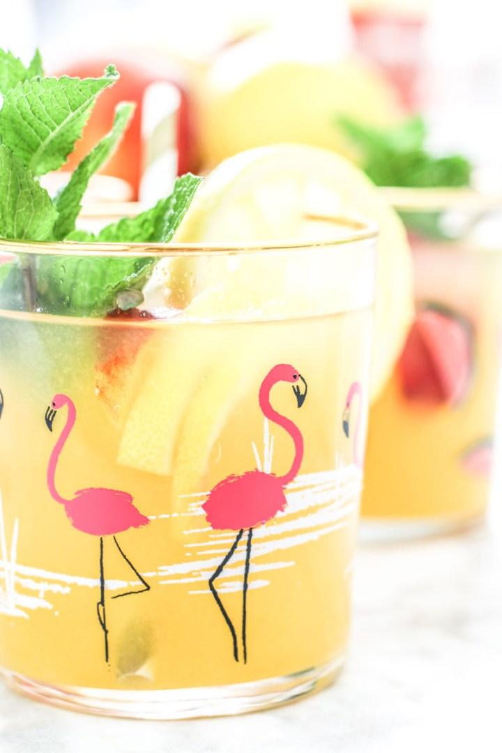 Peach Lemonade recipe   What Charlotte Baked