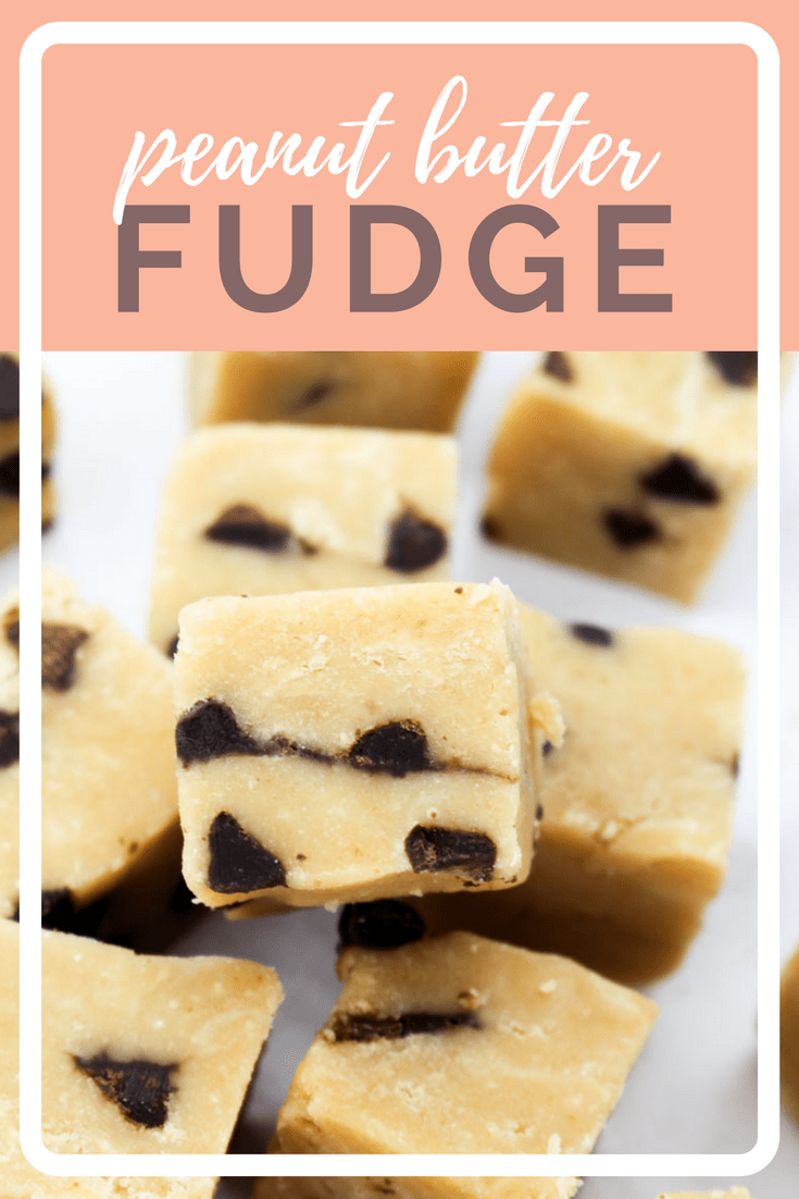 Peanut Butter Chocolate Chip Fudge Recipe | What Charlotte Baked