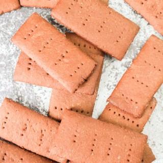 Homemade Chocolate Graham Crackers recipe | What Charlotte Baked