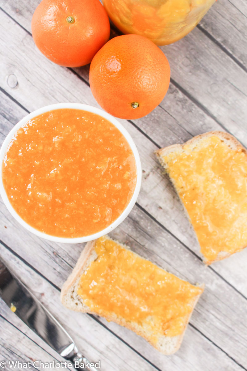 Clementine & Prosecco Jam recipe | What Charlotte Baked