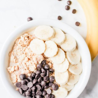 Peanut Butter Overnight Oats recipe | What Charlotte Baked