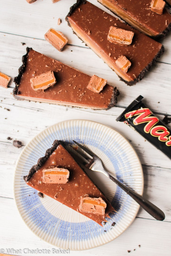 Mars Bar Tart recipe | What Charlotte Baked