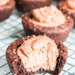 Chocolate Cheesecake Cookie Cups