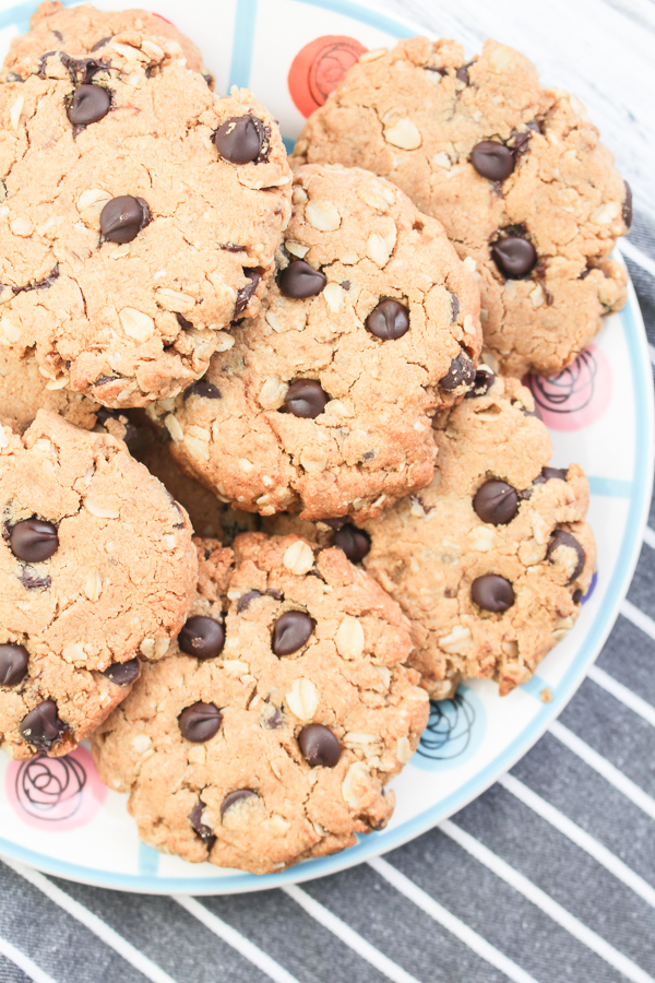 Oatmeal Peanut Butter Cookies recipe | What Charlotte Baked