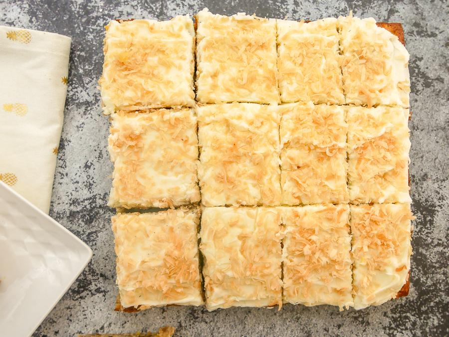 Hummingbird Sheet Cake recipe | What Charlotte Baked
