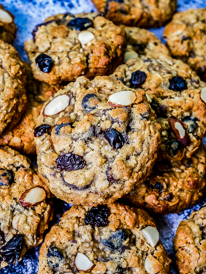 Super Berry Granola Cookies recipe | What Charlotte Baked