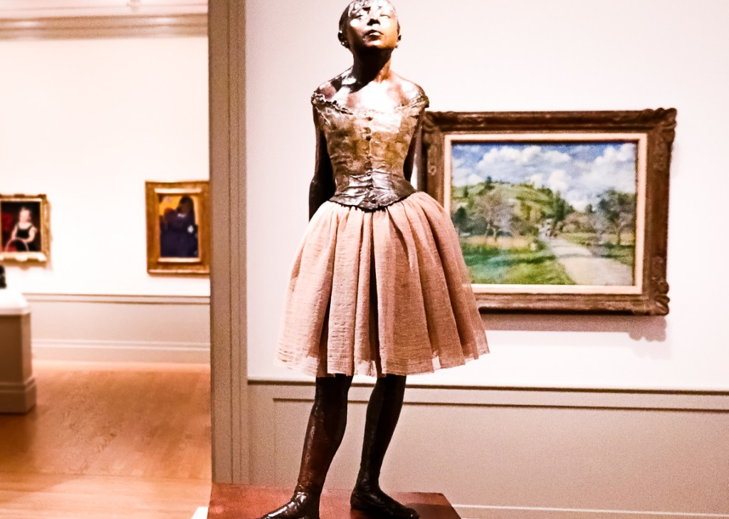 Edgar Degas' 'Little Dancer' Statue