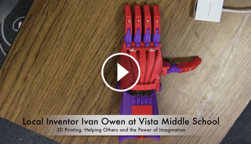 Local Inventor inspires Ferndale students