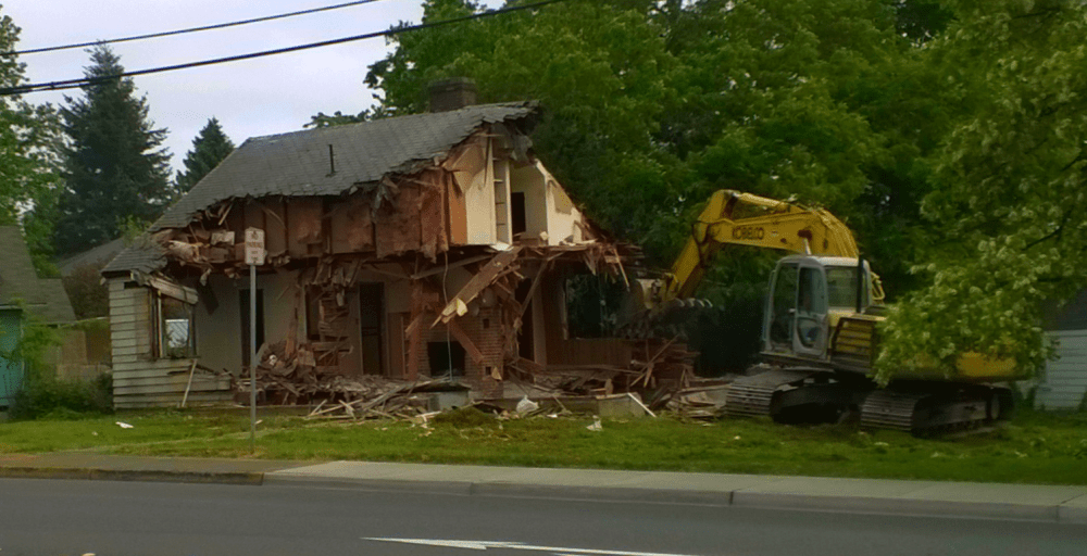 house demolition washington and vista 05-2015