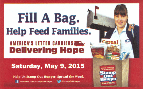 stamp out hunger mailer