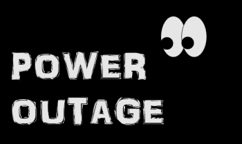 power outage stock graphic