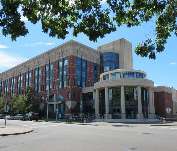 Whatcom County Courthouse (July 29, 2016). Whatcom News file photo