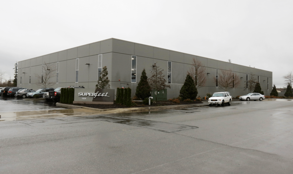Superfeet headquarters and manufacturing facility in Ferndale (March 3, 2017). Photo: My Ferndale News