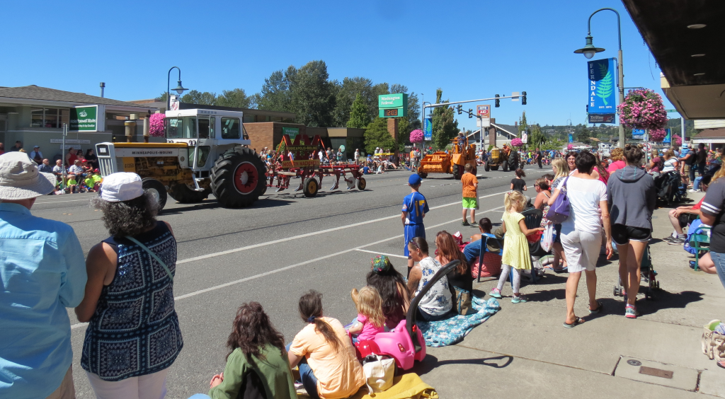 2017 Old Settlers Grand Parade (July 29, 2017). Photo: Whatcom News