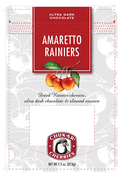 ammaretto cherries packaging