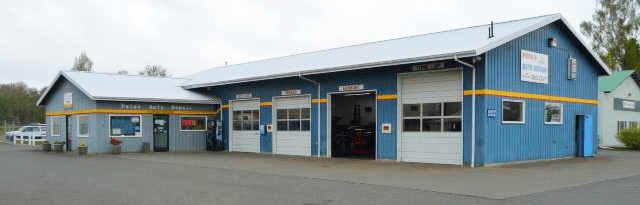 Pete's Auto Repair at 6209 Portal Way (April 27, 2016). Photo: My Ferndale News.
