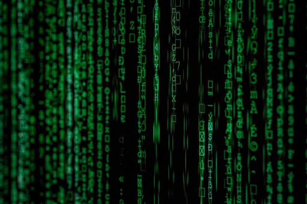 photo of green data matrix