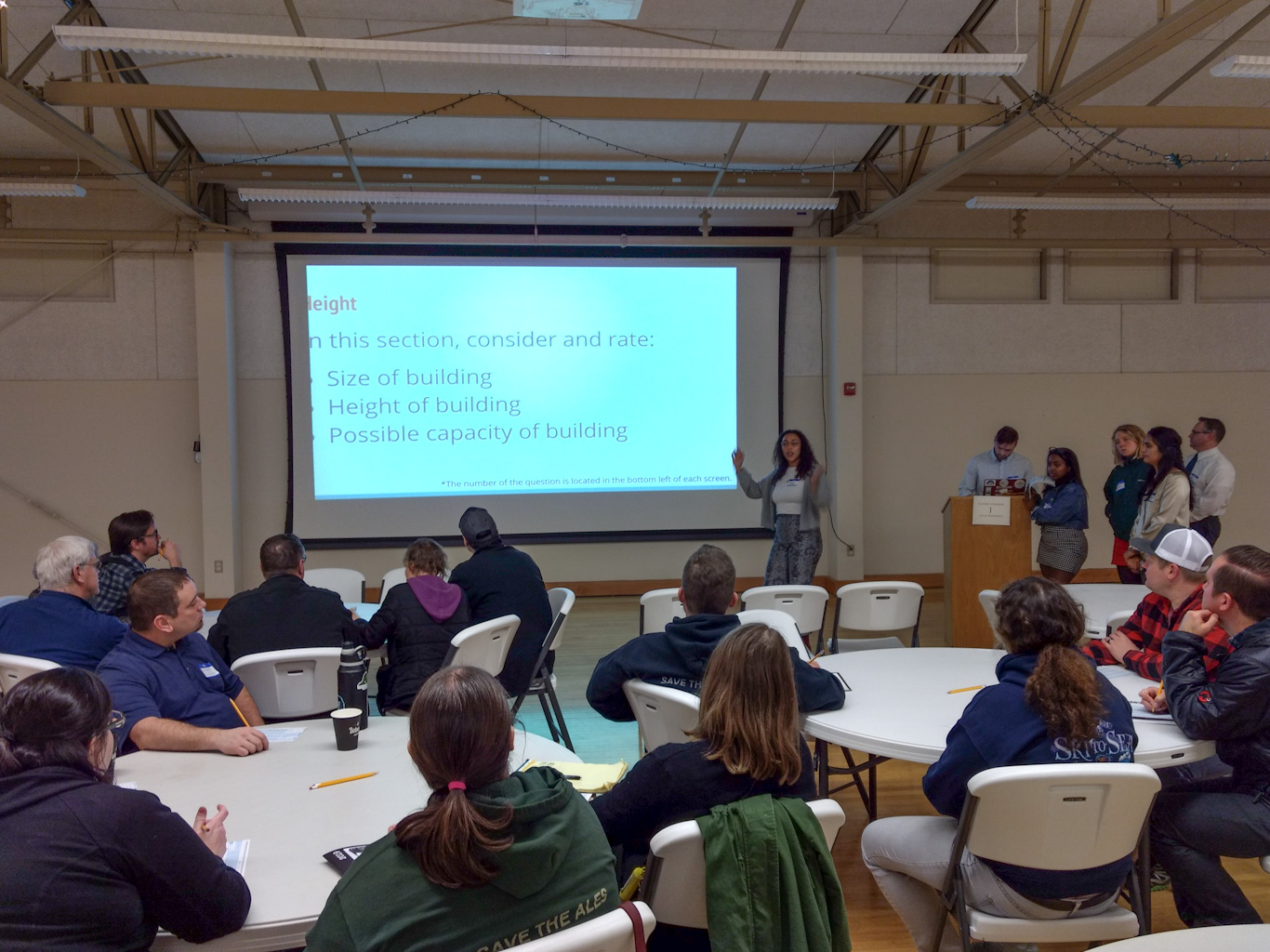 wwu students collect community feedback for downtown study 2019-01-23