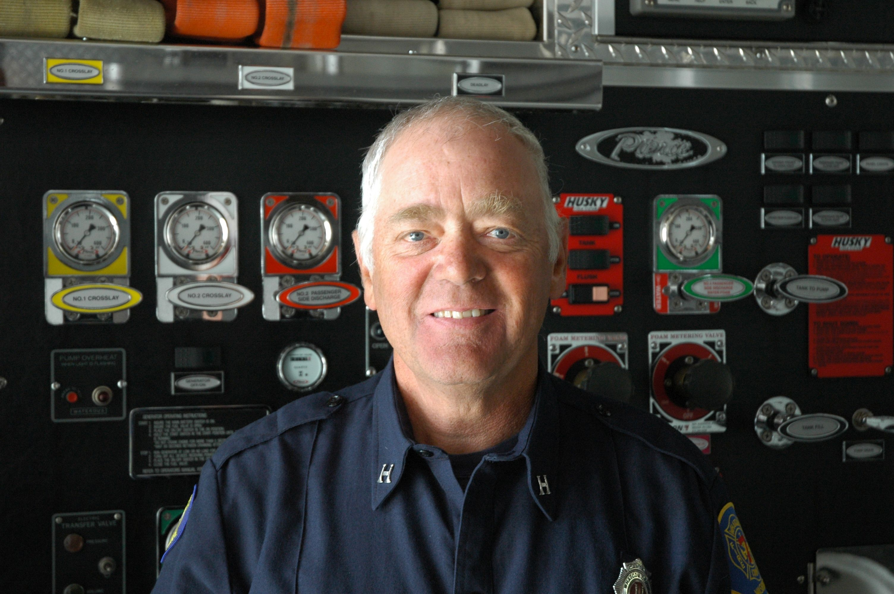 Whatcom County Fire District 7 Captain Vic Pankratz. Photo courtesy of WCFD7