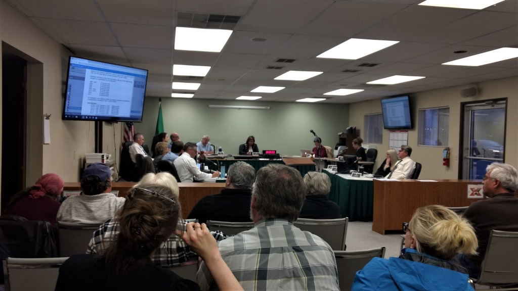 Ferndale City Council meeting (April 15, 2019). Photo: My Ferndale News