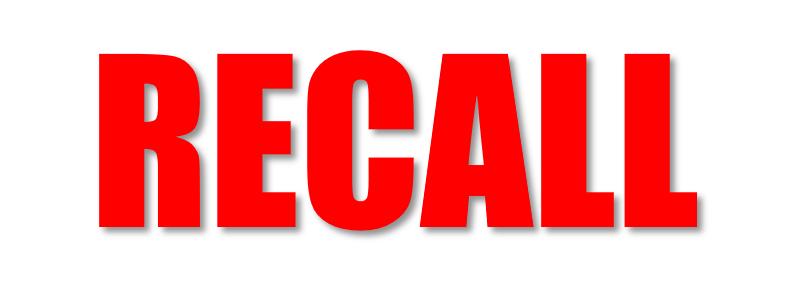 recall graphic