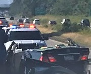 Car with it's roof removed at the scene of a crash on I-5 (July 21, 2019) Photo courtesy of WCFD7