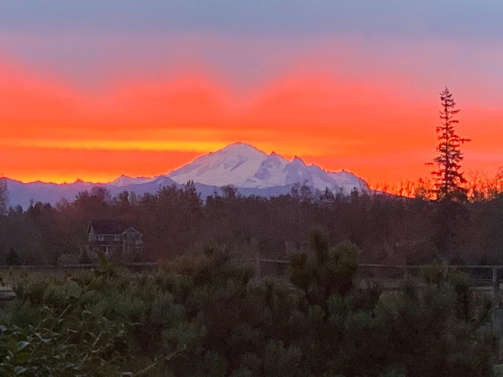 Sunrise (October 12, 2019) Photo credit: Shari Rushing