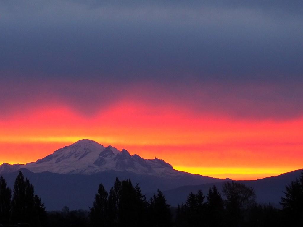 Sunrise (October 12, 2019) Photo credit: Michelle Hawkins
