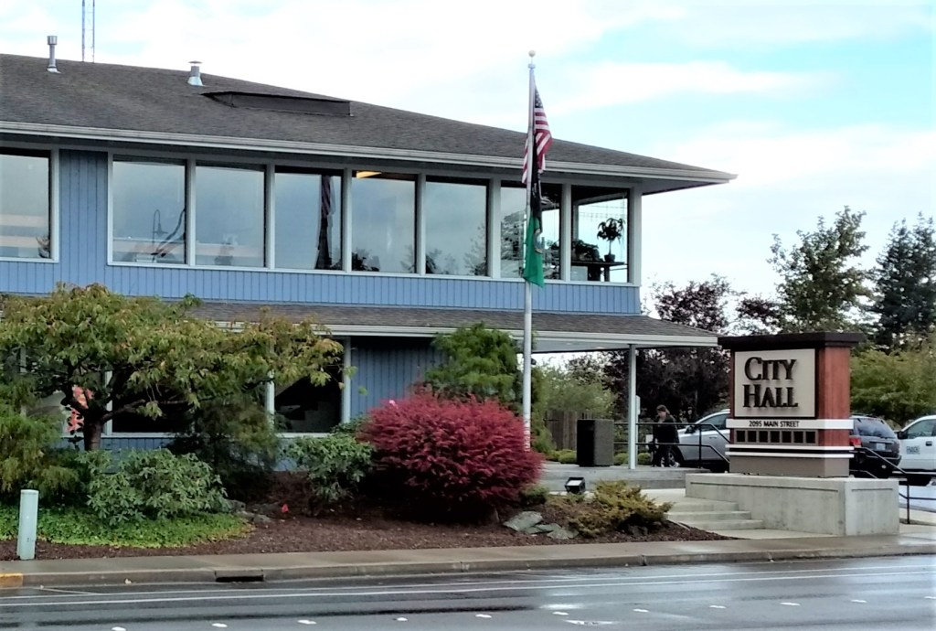 Ferndale City Hall (2019). File photo - My Ferndale News