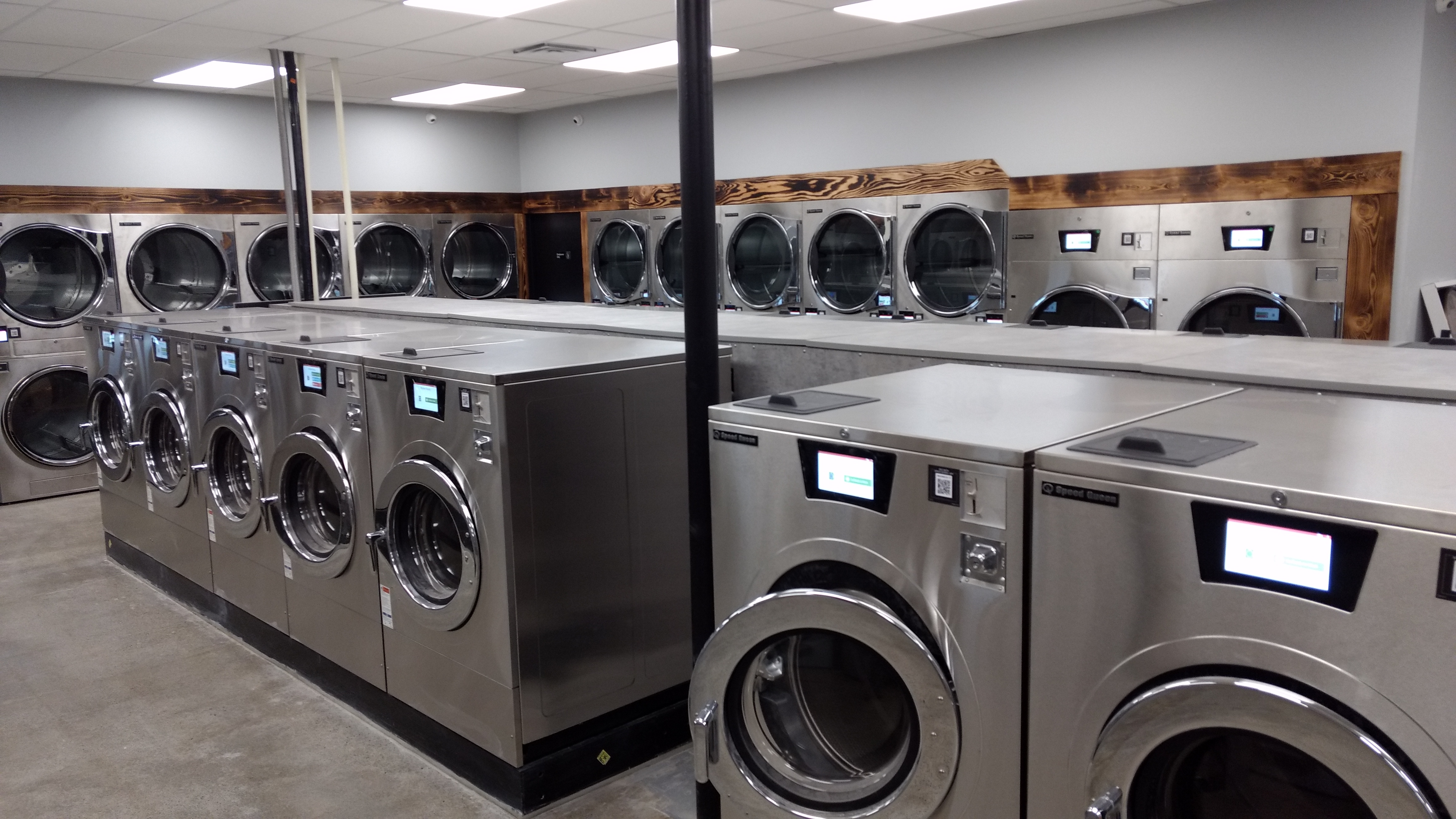 Interior of Ferndale Laundry just before opening their doors (November 29, 2019). Photo: My Ferndale News