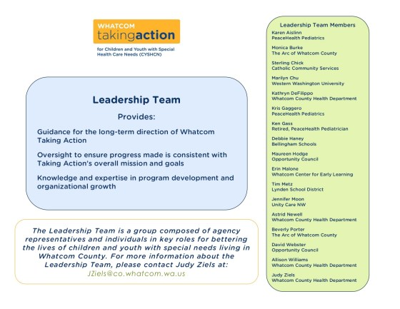 Leadership Team Page image
