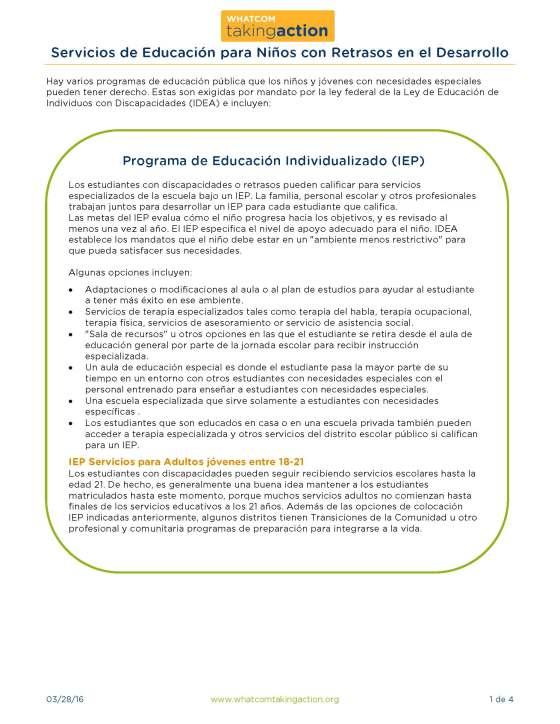 School Services Over 5 (Spanish) 2015-3-28_Page_1