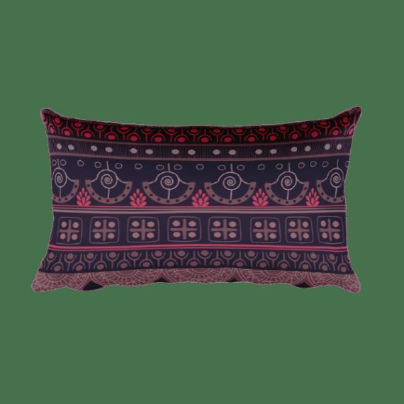Aztec bardo – Native American Styles Decorative Rectangular Pillow