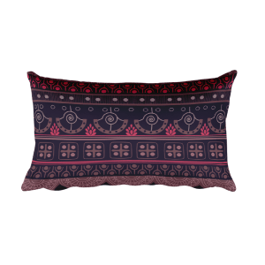 Aztec bardo – Native American Styles Decorative Rectangular Pillow