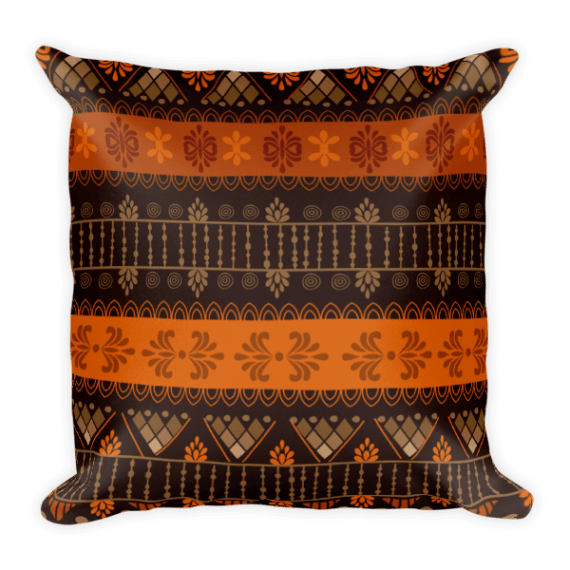 Carrot Square Pillow