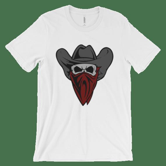 Cowboy Bandit Skull t-shirt