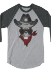 Dallas Cowboy Skull Long-Sleeve Shirt